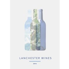 Design a slick, modern brochure cover for Lanchester Wines by jennysjodin