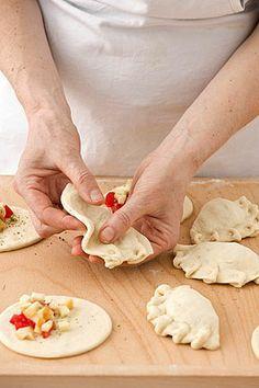 Panzerotti al forno - Scuola di cucina - Donna Moderna