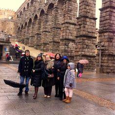 Foto familiar en Segovia