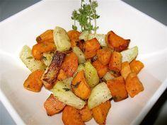 Roasted Organic Kohlrabi and Sweet Potatoes Recipe - Whole Lifestyle Nutrition | Organic Recipes | Holistic Recipes