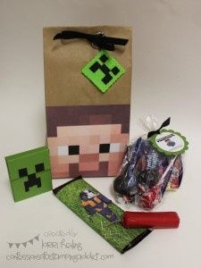 Minecraft Birthday Party - Click image to find more DIY & Crafts Pinterest pins