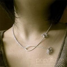 Dandelion necklace...adorable!  Check out this lady's talent at popnicute on artfire.
