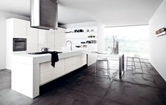 a beautiful solution by Cesar Cucine, come visit us to learn about all of their products, we are authorized dealers.