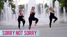 Demi Lovato - Sorry Not Sorry (Dance Fitness with Jessica) Dance Workout Videos, Zumba Videos, Workout Songs, Dance Videos, Dance Workouts, Dance Exercise, Circuit Workouts, Zumba Songs, Zumba Routines