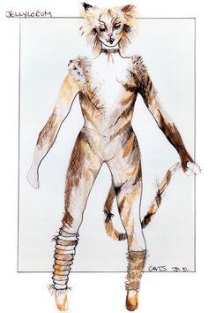 Jellylorum - original costume design, John Napier 1981