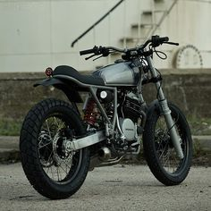 Herea??s the latest custom to roll out of the Madrid workshop of Cafe Racer Dreams. Once again, therea??s an off-road influencea??but this time, the Spanish workshop