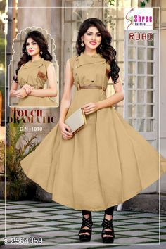 Gowns Adorable Cotton Women's Gown Fabric: Cotton Sleeves: Sleeves Are Not Included Size: M - 38 in L - 40 in XL - 42 in XXL - 44 in Length: Up To 46 in Type: Stitched Description: It Has 1 Piece Of Women's Gown  Work: Button Work Country of Origin: India Sizes Available: M, L, XL, XXL   Catalog Rating: ★4.2 (18215)  Catalog Name: Mahika Adorable Cotton Women's Gowns CatalogID_345891 C79-SC1289 Code: 643-2564089-957