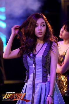 City Hunter. Yoon Sung's half sister.