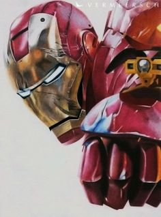 Shooting Iron Man - Colour drawing by Vermeerschdrawings.deviantart.com on @deviantART