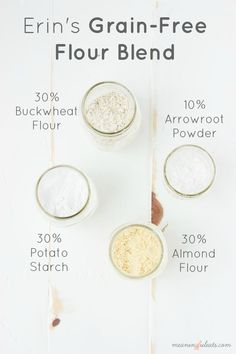 Erin's Grain-Free Flour Blend FoodBlogs.com