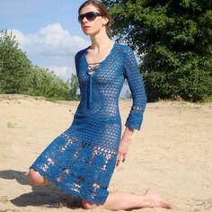 Crochet dress PATTERN crochet TUTORIAL for by CONCEPTcreativeSTORE