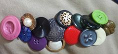 I like Big Butt - ons and I cannot lie Bracelet -- BIG buttons, Vintage and New $28
