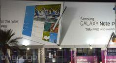 Samsung lanceert Galaxy Tab Pro- en Galaxy Note Pro-tablets