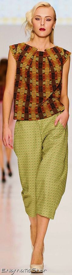 Makaron Marina Spring Summer 2015 Ready-To-Wear