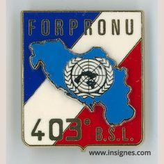 403° BSL FORPRONU Ex-Yougoslavie - Insignes.com