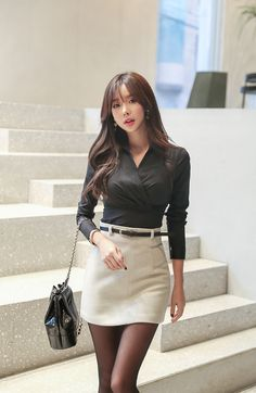 Best 11 Want these spring korean fashion – SkillOfKing. Fashion Models, Girl Fashion, Fashion Dresses, Womens Fashion, Style Feminin, Beautiful Asian Women, Sexy Asian Girls, Korean Women, Asian Style
