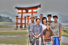 Miyajima Shrine near Hiroshima, Japan