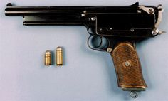 The MARS Syndicate Pistol-In 1899 London, one Mr. HW Gabbett-Fairfax produced a beast of a pistol. Incorporated as the Mars Automatic Pistol Syndicate, his pistol was submitted for brief and spectacular testing by the British Army. The hand cannon fired a unique bottle necked round of the inventor's own design, the .450 Mars, that today remains one of the most powerful rounds ever used in a handgun.