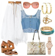 City Look Summer Outfit Idea