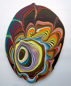 Pour Painting by Holton Rower