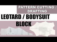 "How to make leotard "" leotard style #2""  video #20 - YouTube"