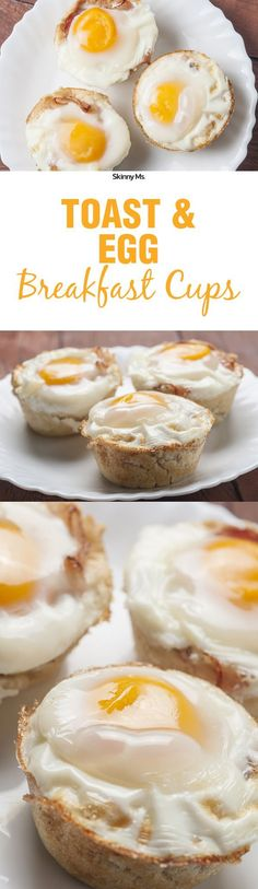 Toast and Egg Breakfast Cups are an incredibly easy option for any day of the week.