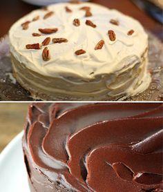 6 rellenos para tartas diferentes