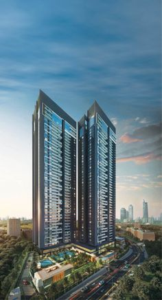 Casall New York apart Luxury Condo, Luxury Homes Dream Houses, Hotel Architecture, Futuristic Architecture, Hillside Apartments, Minecraft City Buildings, Residential Building Design, Dubai Houses, Future Buildings