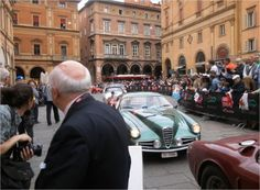 """""""Stamping cars at Mille Miglia Bologna today"""" by @janfuscoe"""