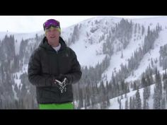 #SkiTheDifference with Trace Worthington at Deer Valley Resort.