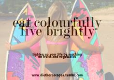 eat colorfully. live brightly