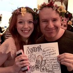 At the @tiff_net #annetheseries premiere after-party at @lumarestaurant I drew me and @amybethmcnulty who plays Anne. The real us is on top the cartoon is at the bottom. Let her inspire your creativity starting Sunday at 8pm on @CBC.   #feminist #anneofgreengables #ginger #redhair #actress #tv #cdntv #cdnfilm #Canada #Toronto #cartoon #art #drawing #Hollywood #celebritynews #celebritygossip #celebrity @netflix   I am a: #celebrityinterviewer #entertainmentreporter #radiohost #tvhost…
