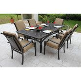 Found it at Wayfair - San Rafael Woven 7 Piece Dining Set