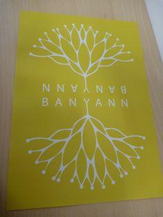 dépliant partenariat, brochure, verso, poster #yoga #meditation #banyann #bienetre Yoga, Books, Libros, Book, Book Illustrations, Libri