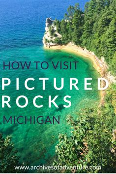 Space Guide Where to eat, hike and stay when visiting Pictured Rocks, Michigan! - If you want to see one of this state's most beautiful sights, here's how to visit Pictured Rocks Michigan, in the Upper Peninsula. Michigan Vacations, Michigan Travel, Michigan Usa, Camping Michigan, Holland Michigan, Torch Lake Michigan, Midwest Vacations, Sault Ste Marie Michigan, Lake Michigan Vacation