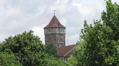 Rothenblog: Röderturm mit Bastei in Rothenburg