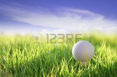 golf en el campo verde Foto de archivo