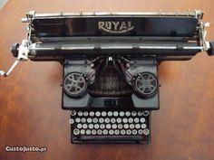 Máquina de Escrever ROYAL Standard 1933 no Porto