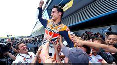 Dani Pedrosa wins at Jerez