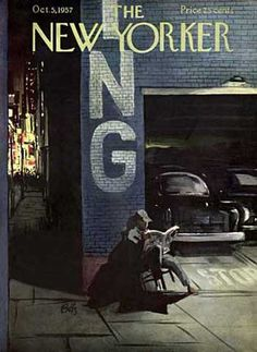 Arthur Getz : Cover art for The New Yorker, 5 Octobre 1957