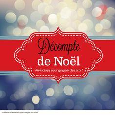 Plongez dans l'ambiance des fêtes grâce à notre décompte de 12 jours. Du 1er décembre jusqu'au 12 décembre, nous vous proposerons des idées de cadeaux, des recettes savoureuses et des trucs pratiques pour célébrer en grand. Nous offrons un #prix à gagner chaque jour. Inscrivez-vous au #concours ici: http://www.vivremieuxwalmart.ca/compte-a-rebours-pour-noel/