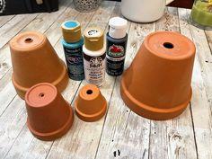 Clay Pot Gnome Garden | Hometalk Gnome Garden, Garden Pots, Parsley Plant, Garden Globes, Garden Stepping Stones, Cute Clay, Vintage Office, Clay Pots, Fun Projects