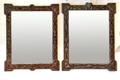 pair-of-tramp-art-framed-mirrors-from-alsace