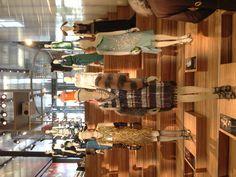 Gatsby inspired display at the Prada Store in SoHo, NYC