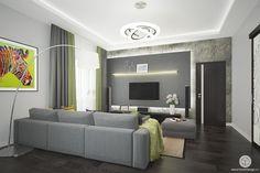 Интерьер гостиной в современном стиле | http://panovdesign.ru