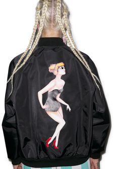 Joyrich Beverly Hills Girl Athletic Jacket | Dolls Kill