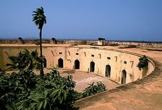 From 1536 until 1848, before slavery was abolished in Senegal it was the Africa's biggest slave trading centre from where many black slaves were deported to the Americas and other trading on the African coast.