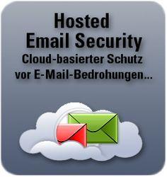 """Hosted Email Security - Cloud dienst. Wehr Spam, Viren usw. ab bevor sie an """"deinen"""" Email-server gelangen Clouds, Cloud"""