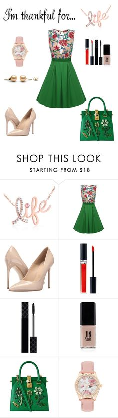 """""""I'm thankful for..."""" by fashion8-2016 ❤ liked on Polyvore featuring Kobelli, Massimo Matteo, Christian Dior, Gucci, JINsoon, Dolce&Gabbana and imthankfulfor"""