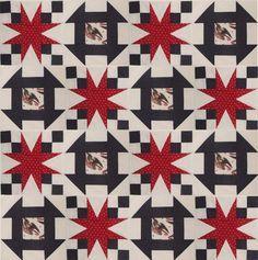 Quilt Blocks of ValorCombo Set by KountreeCreations on Etsy